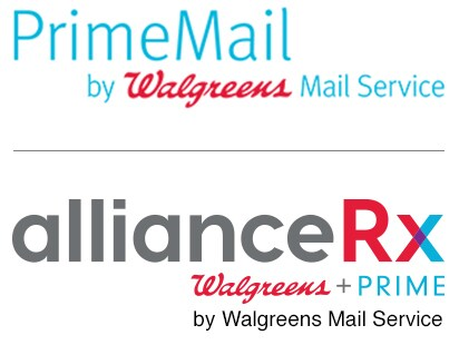PrimeMail(R) by Walreens Mail Service. allianceRx. Walgreens + PRIME by Walgreens Mail Service.