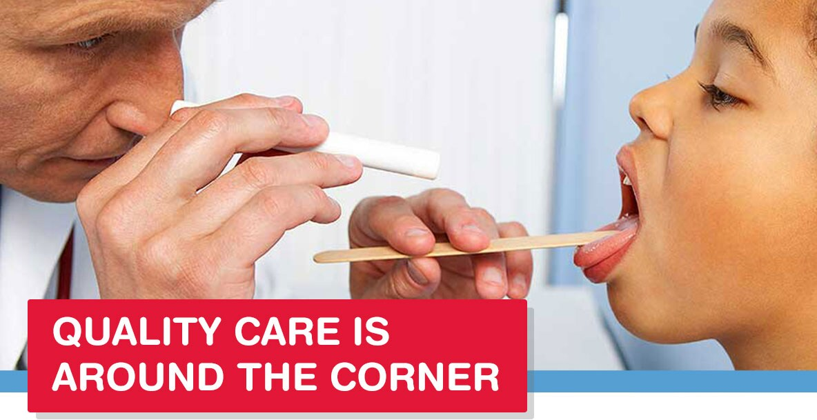 Quality care is around the corner
