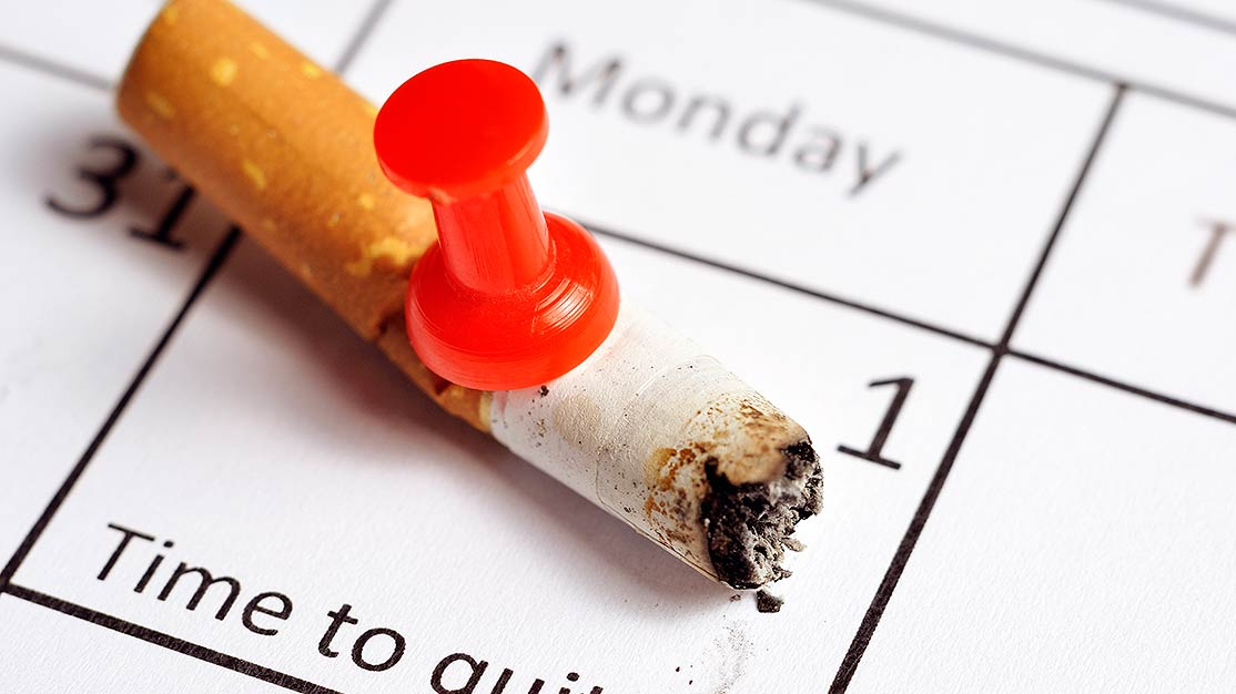 Make 2018 your year to quit smoking and make a plan on how to stick to your quit!