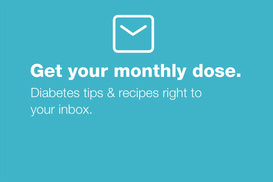 Get your monthly dose. Health & wellness tips right to your inbox