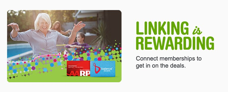 Linking is rewarding. Connect memberships to get in on the deals.