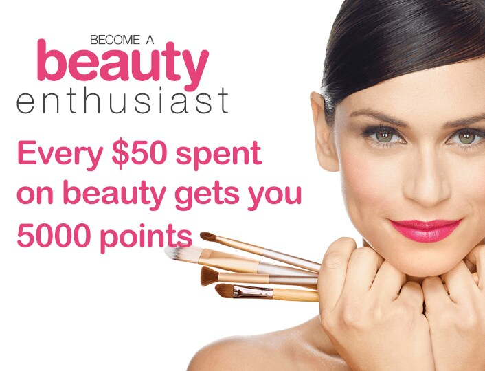 Beauty Rewards - desktop image