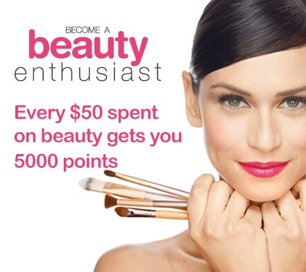 Beauty Rewards - tablet image