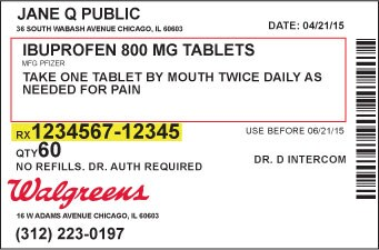 retail and home delivery pharmacy rxnumber - Walgreens Prescription Discount Card