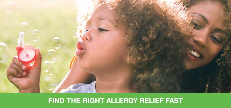 Find the right allergy relief fast