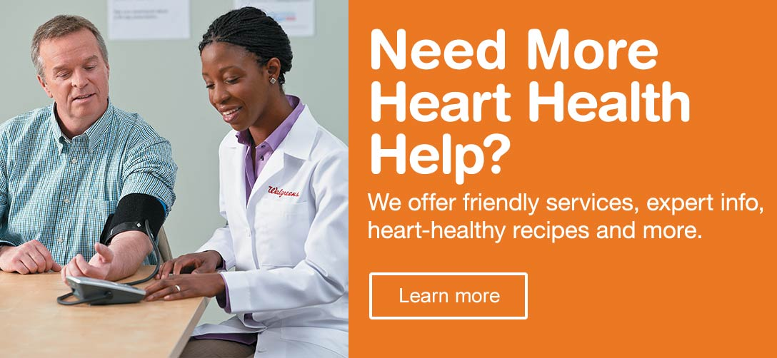 Need More Heart Health Help? We offer friendly services, expert info, heart-healthy recipes and more. Learn more.