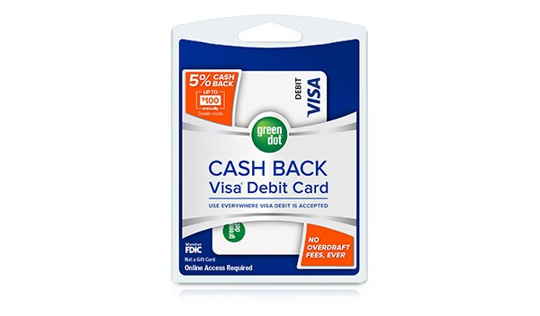 Green Dot Cash Back Visa(R) Debit Card