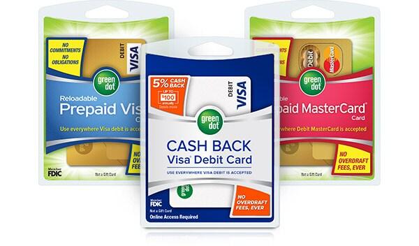 Green Dot(R) Debit Cards