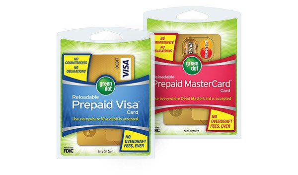 green dot reloadable prepaid visa and mastercardr cards - Green Dot Prepaid Visa Card