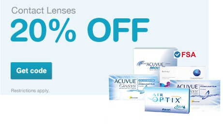 $5 Off $50+ Order - Discount Contact Lenses