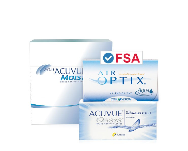 FSA Approved - 20% OFF Contacts