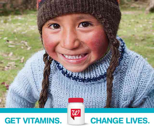 Get vitamins. Change Lives.