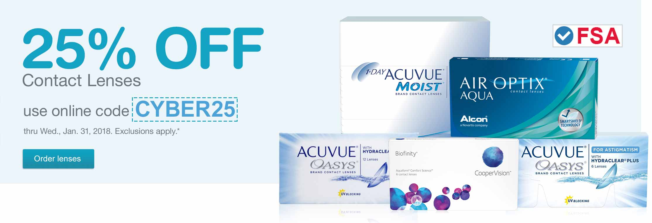 Walgreens Contact Lens Sale | Order Acuvue, Air Optix, Biofinity ...