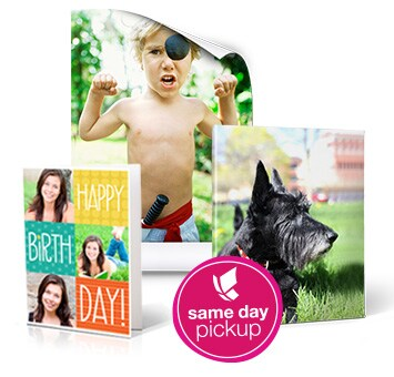 Turn your photos into lasting memories. Same day pickup. Learn more.
