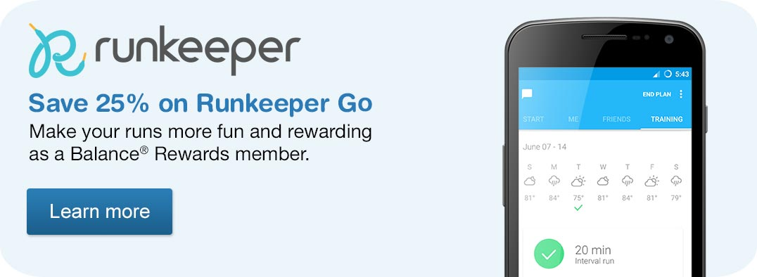 Save 25% on Runkeeper Go. Learn more.