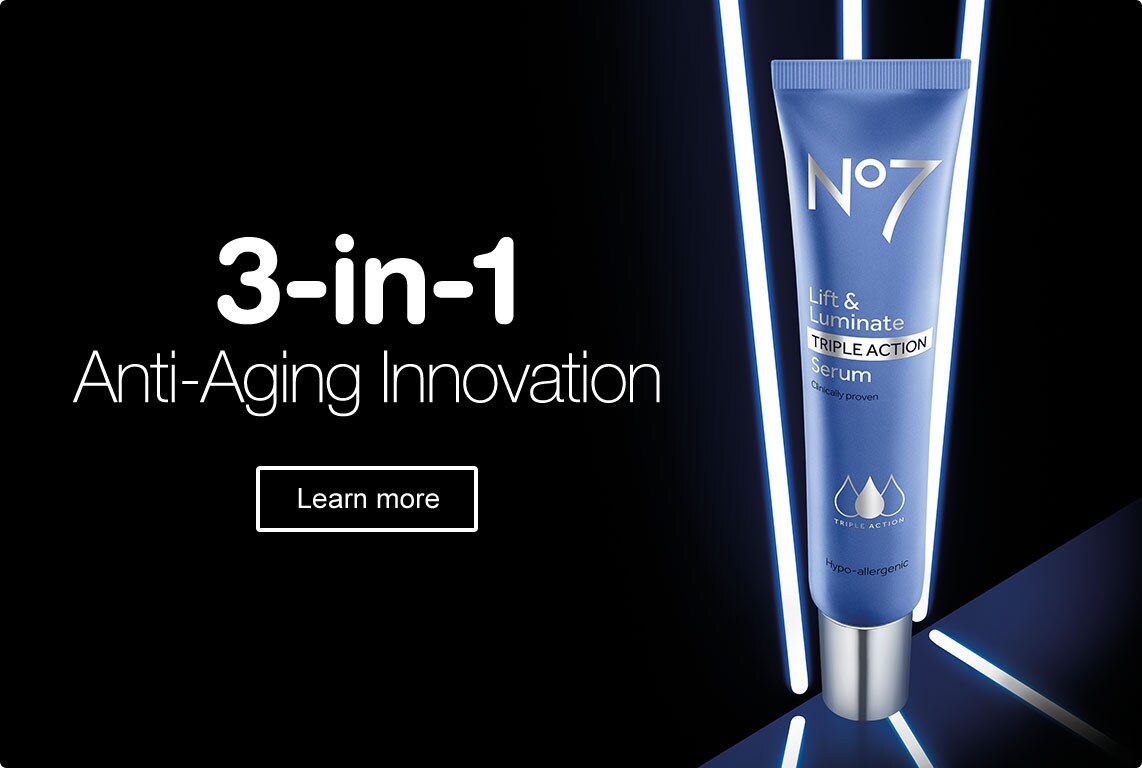 3-in-1 Anti-Aging Innovation. Learn More.