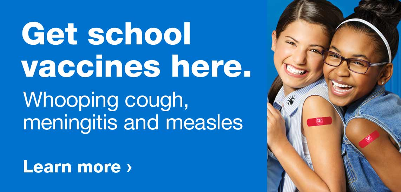 Immunization Services | Pharmacy | Walgreens