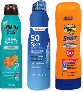 sunscreen products