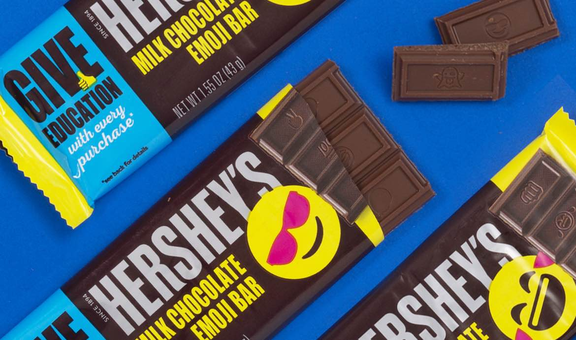 Give Education with Hershey's