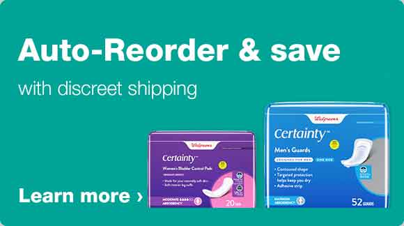 Auto-Reorder & save with discreet shipping. Learn more.