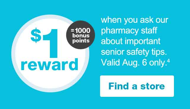 Senior Savings Day | Walgreens
