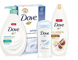 Dove Bath, Shave and Skin Care
