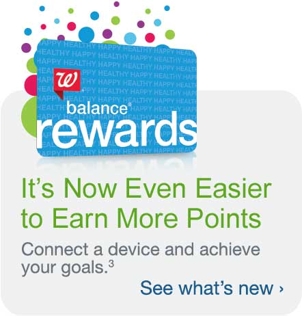 Balance Rewards. It's Now Even Easier to Earn More Points. Connect a device and achieve your goals.(3) See what's new.