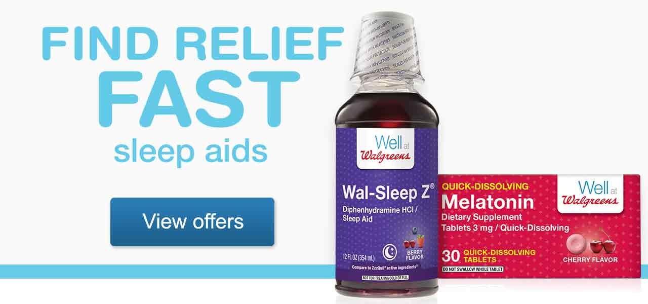 Find Relief Fast - Sleep Aids. View offers.