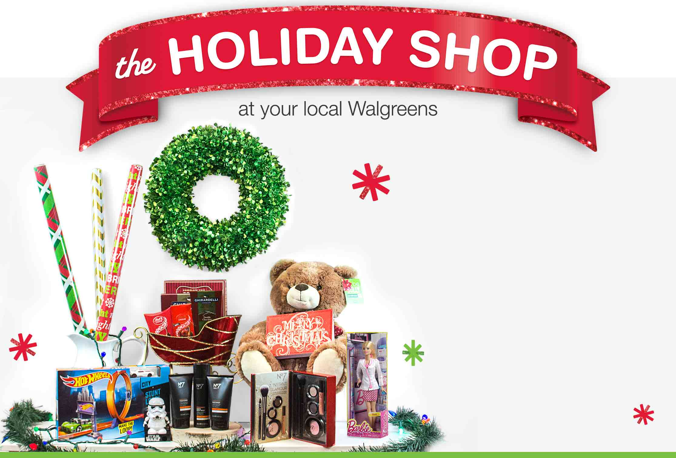 find season essentials in store - Walgreens Open Christmas Day