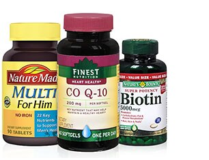 Up to 50% OFF Vitamins and Supplements from Finest Nutrition, Nature's Bounty and more*