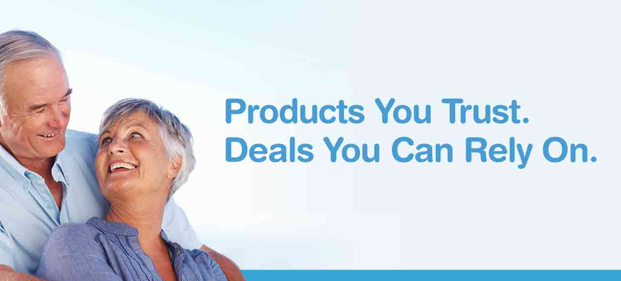 Products You Trust. Deals You Can Rely On.