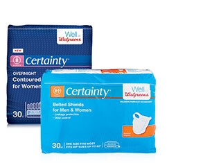 Walgreens Certainty Products
