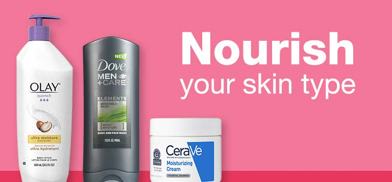 Nourish your skin type