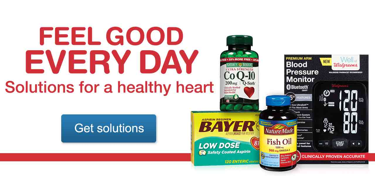 Feel Good Every Day. Solutions for a healthy heart. Get solutions.