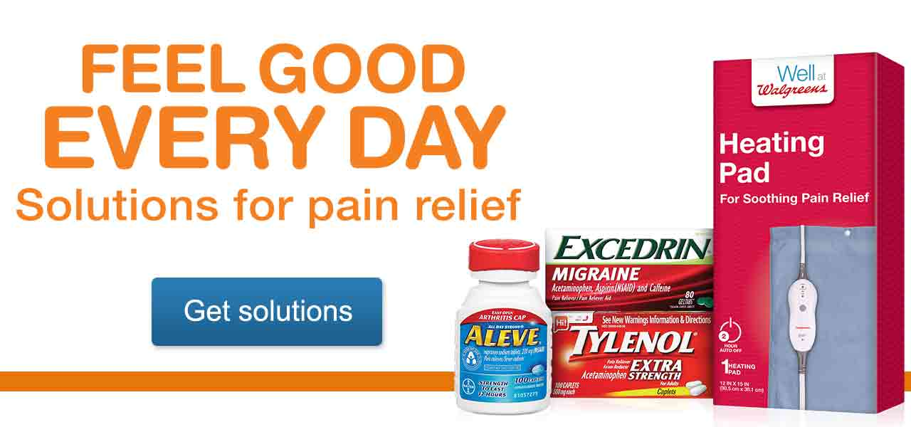 Feel Good Every Day. Solutions for pain relief. Get solutions.