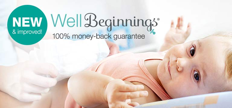 Well Beginnings.(R) NEW & Improved! 100% money-back guarantee.
