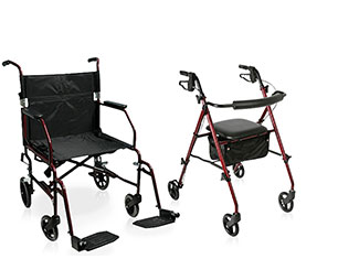 Walgreens brand Rollator or Transport Chair