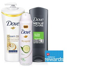 Dove Bath, Skin or Personal Care