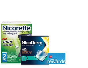 Nicorette and NicoDerm CQ Smoking Cessation Aids