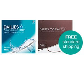 Contact Lenses. Free Standard Shipping.(1)