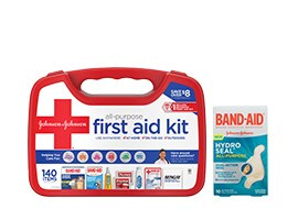 First aid, braces & bandaging