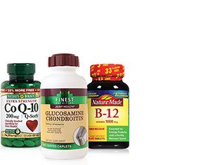 Vitamins & Supplements from Nature's Bounty, Nature Made and more