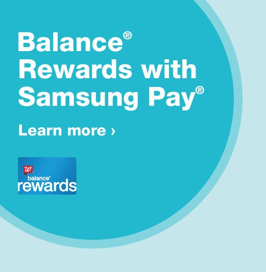 Balance® Rewards with Samsung Pay®. Learn more.