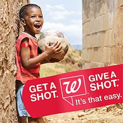 Get a Shot. Give a Shot. It's that easy.
