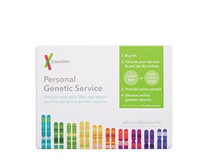 23andMe Personal Genetic Service Saliva Collection Kit