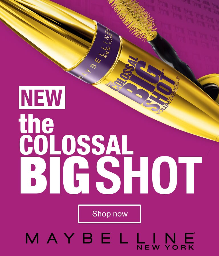 NEW—The Colossal Big Shot. Maybelline New York. Shop now.