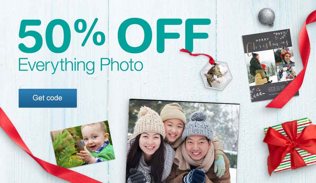 50% OFF Everything Photo. Get code.