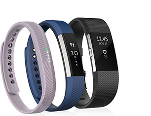 Select Fitbit Activity Trackers