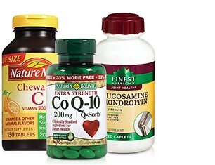 Vitamins & Supplements from Nature Made, Nature's Bounty and more