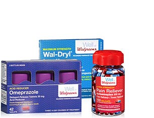 Well at Walgreens Health products